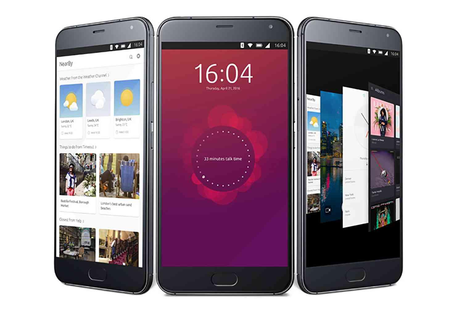 Meizu Pro 5 Ubuntu Edition official