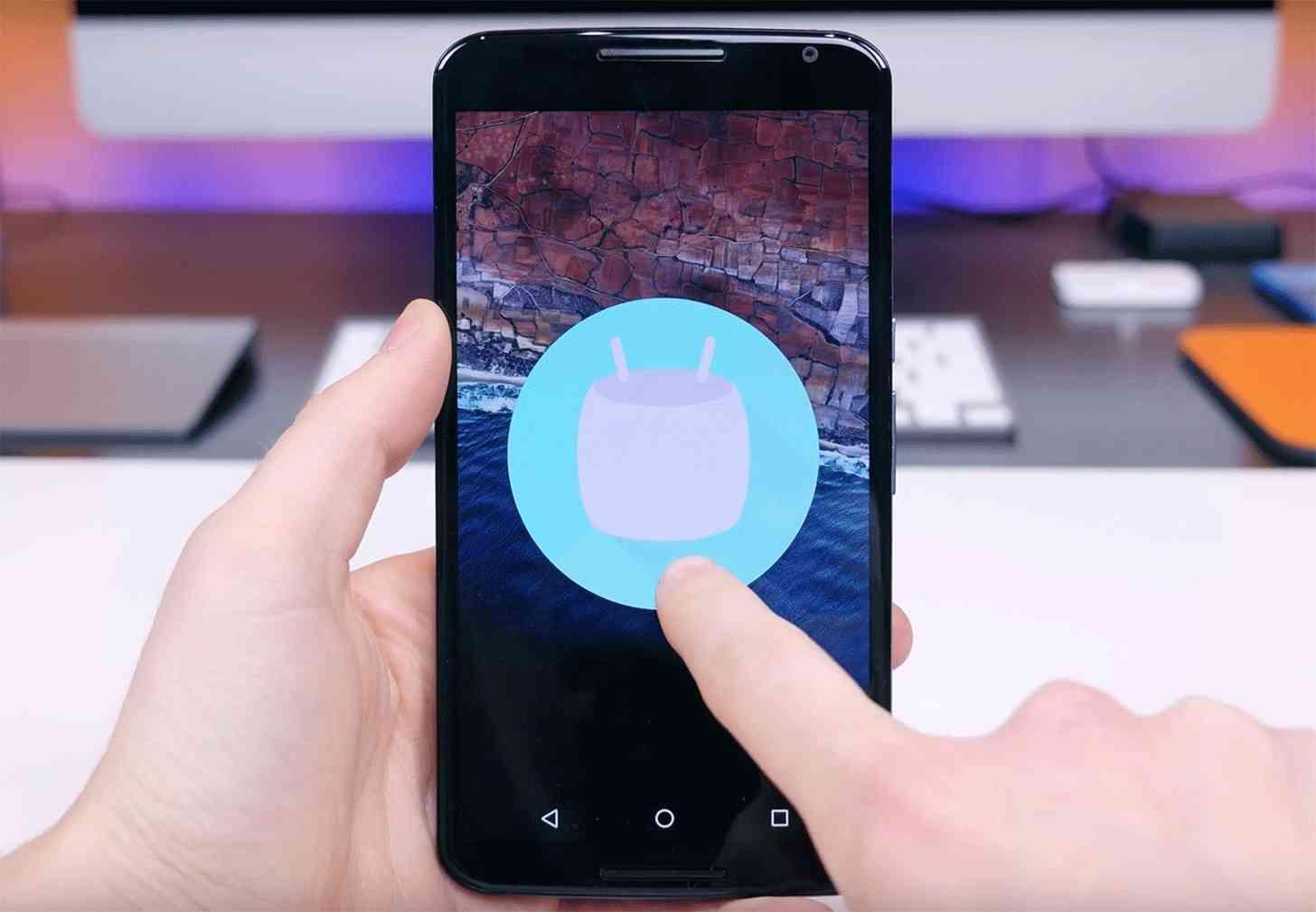 Android 6.0 Marshmallow Easter egg Nexus 6