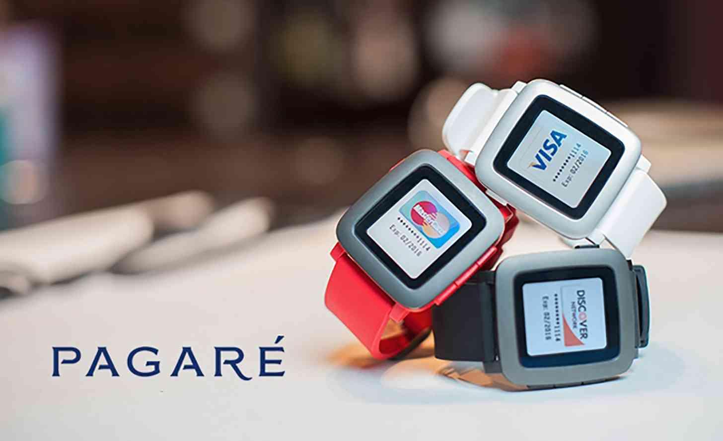 Pagaré NFC Smartstrap Pebble