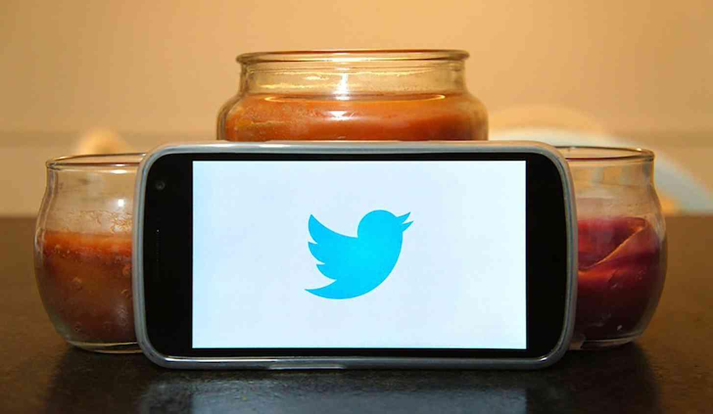 Twitter logo Samsung Galaxy Nexus