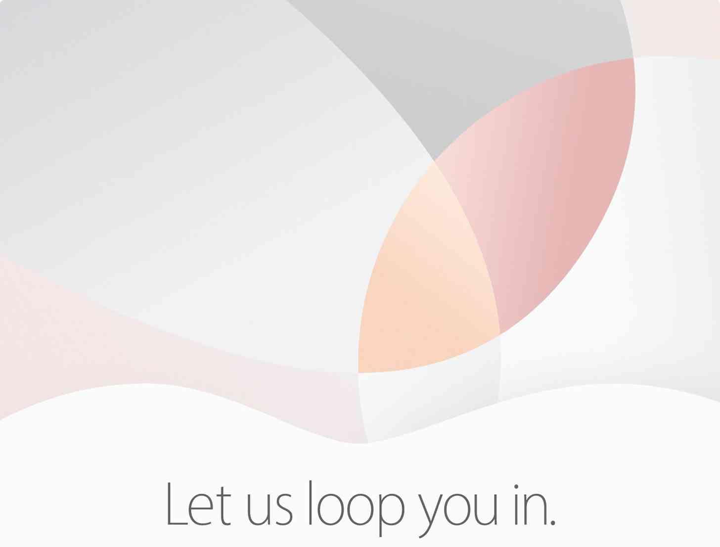 Apple March 21 event invite large