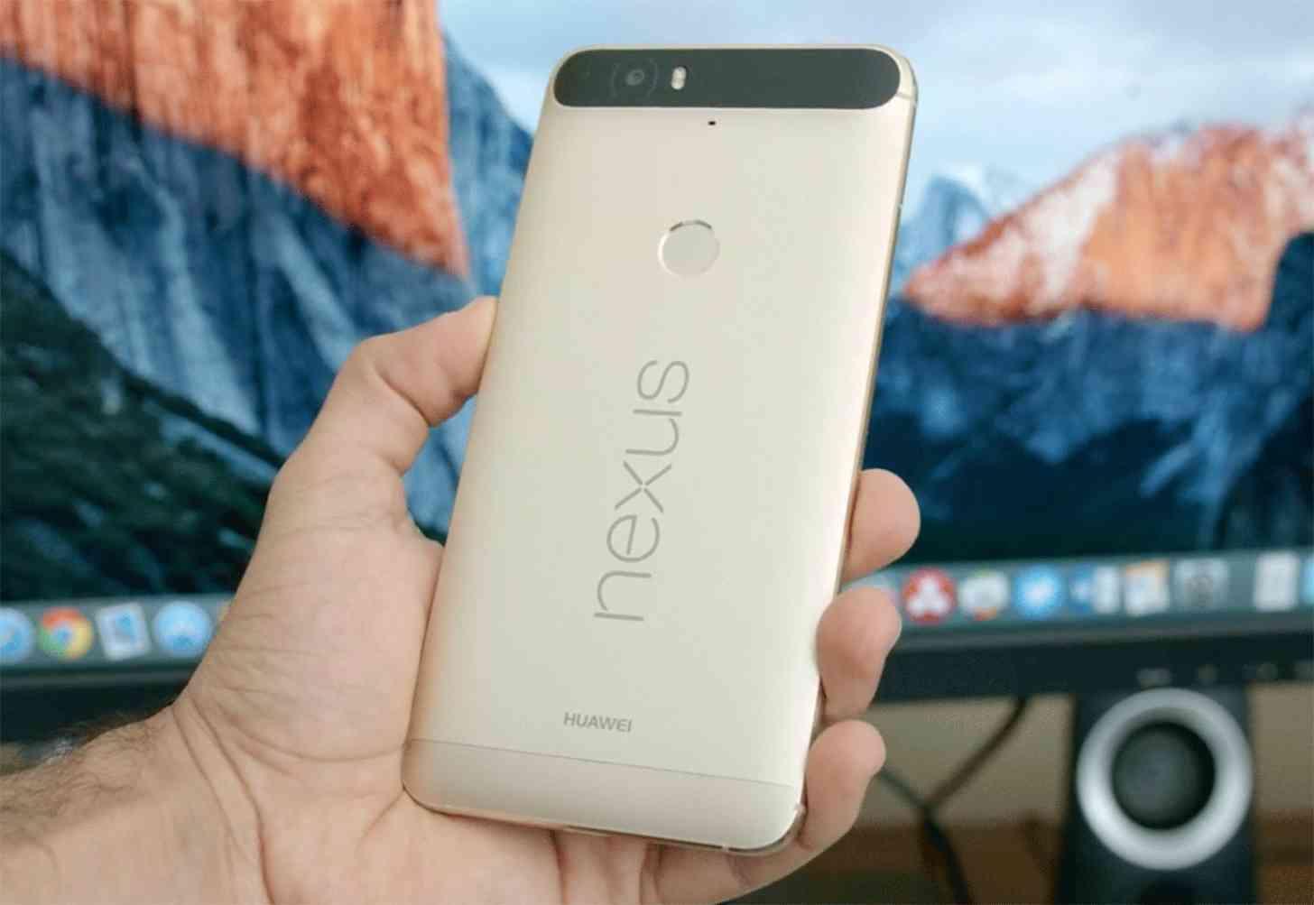 Gold Nexus 6P rear hands on