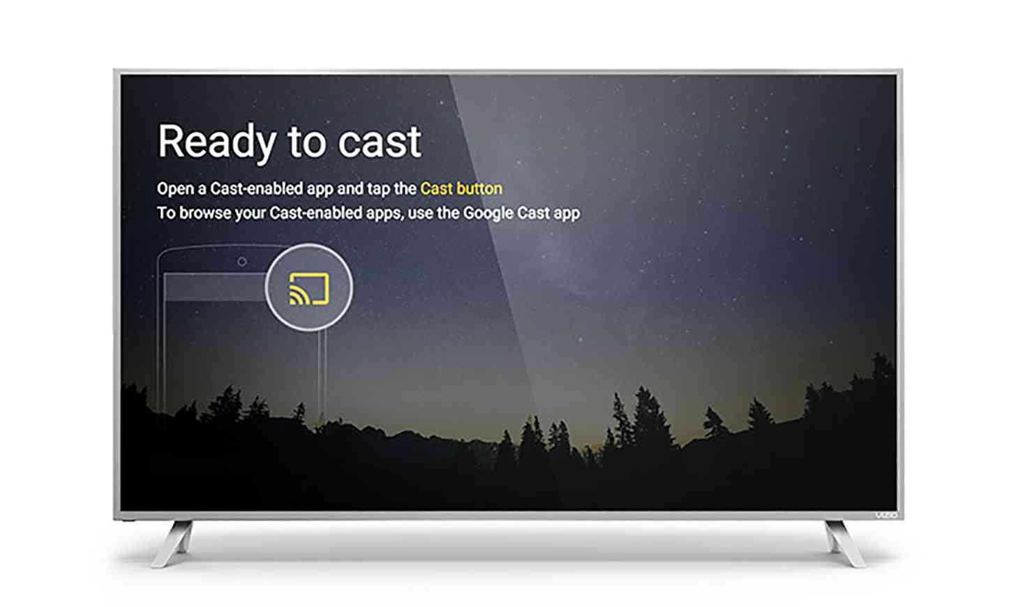 Google Cast app Vizio TV