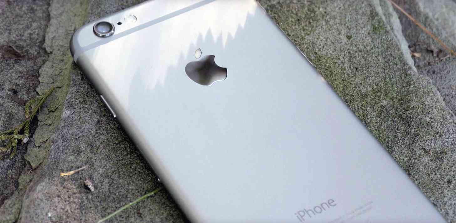 iPhone 6 rear angle