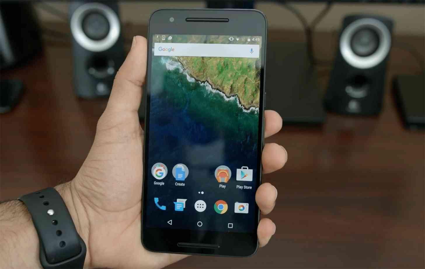 Nexus 6P front hands on