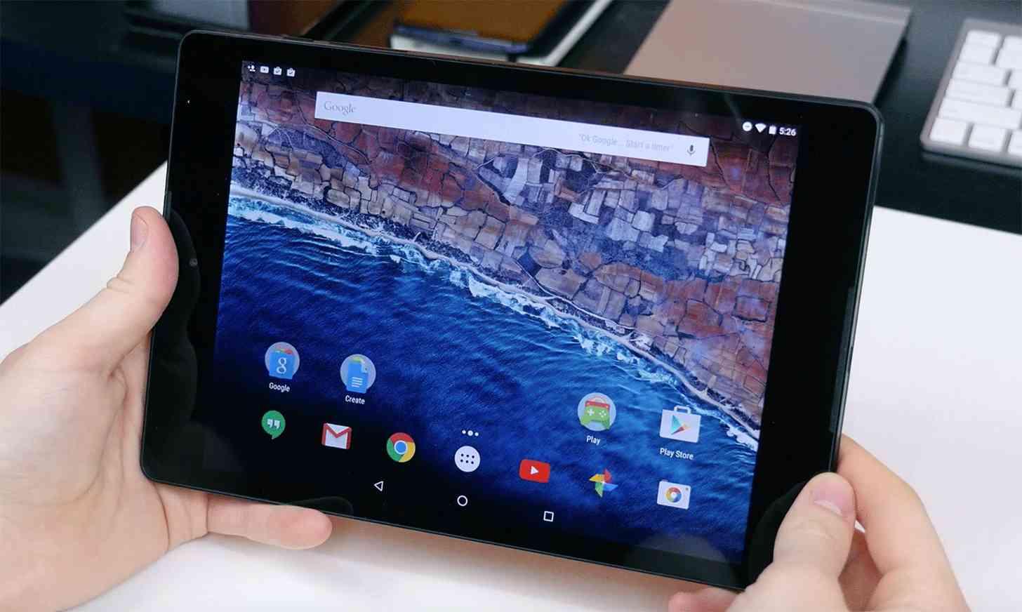 Nexus 9 Android 6.0 hands on