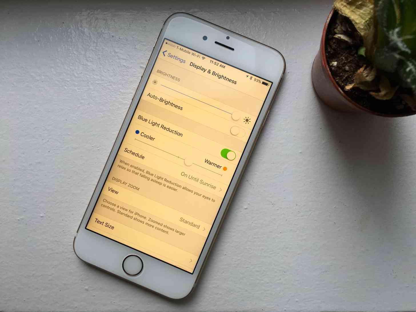 iOS Night Shift
