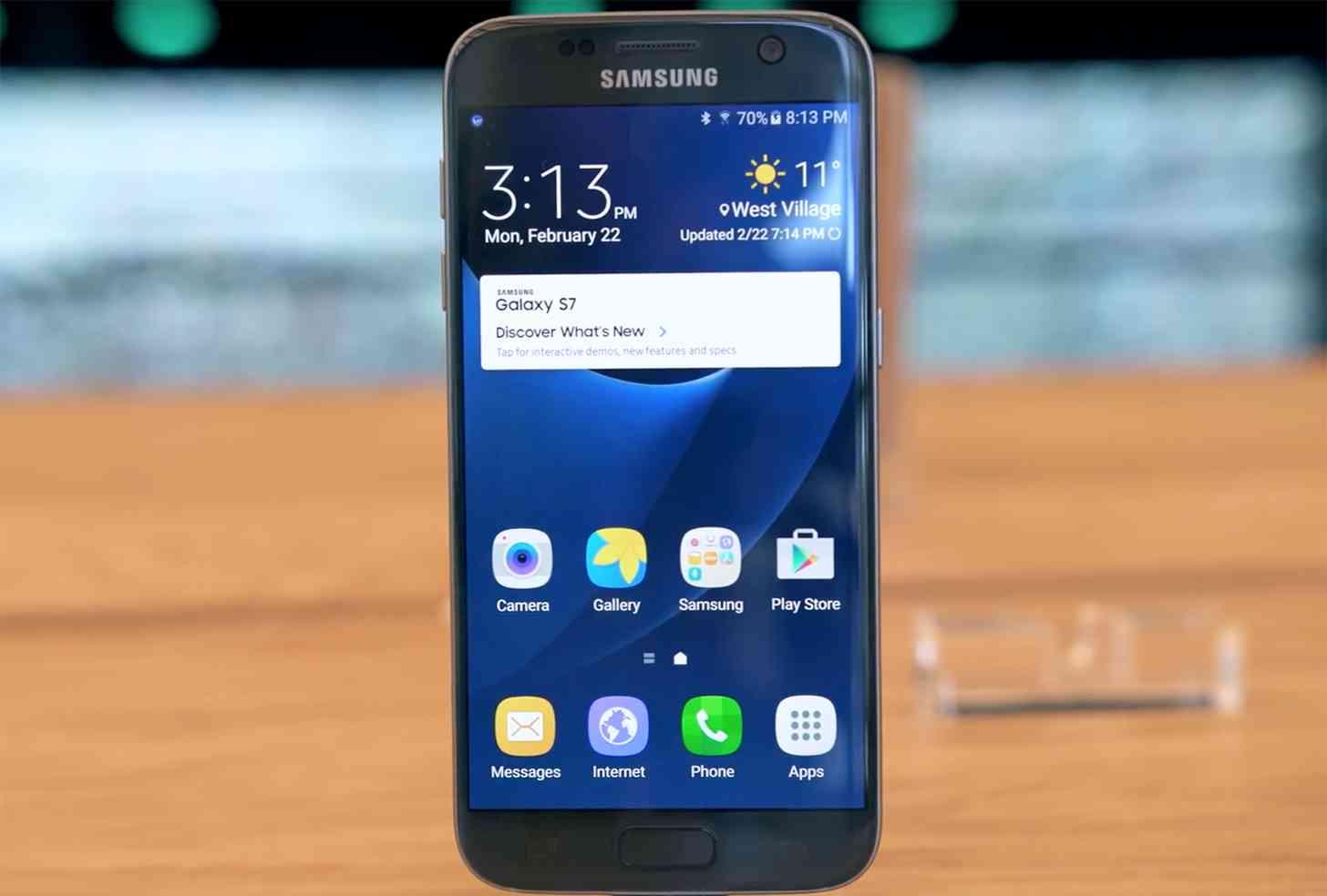 Samsung Galaxy S7 hands on