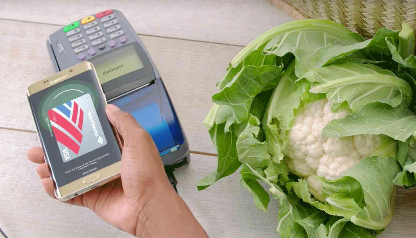 Samsung Pay Galaxy S6 edge+