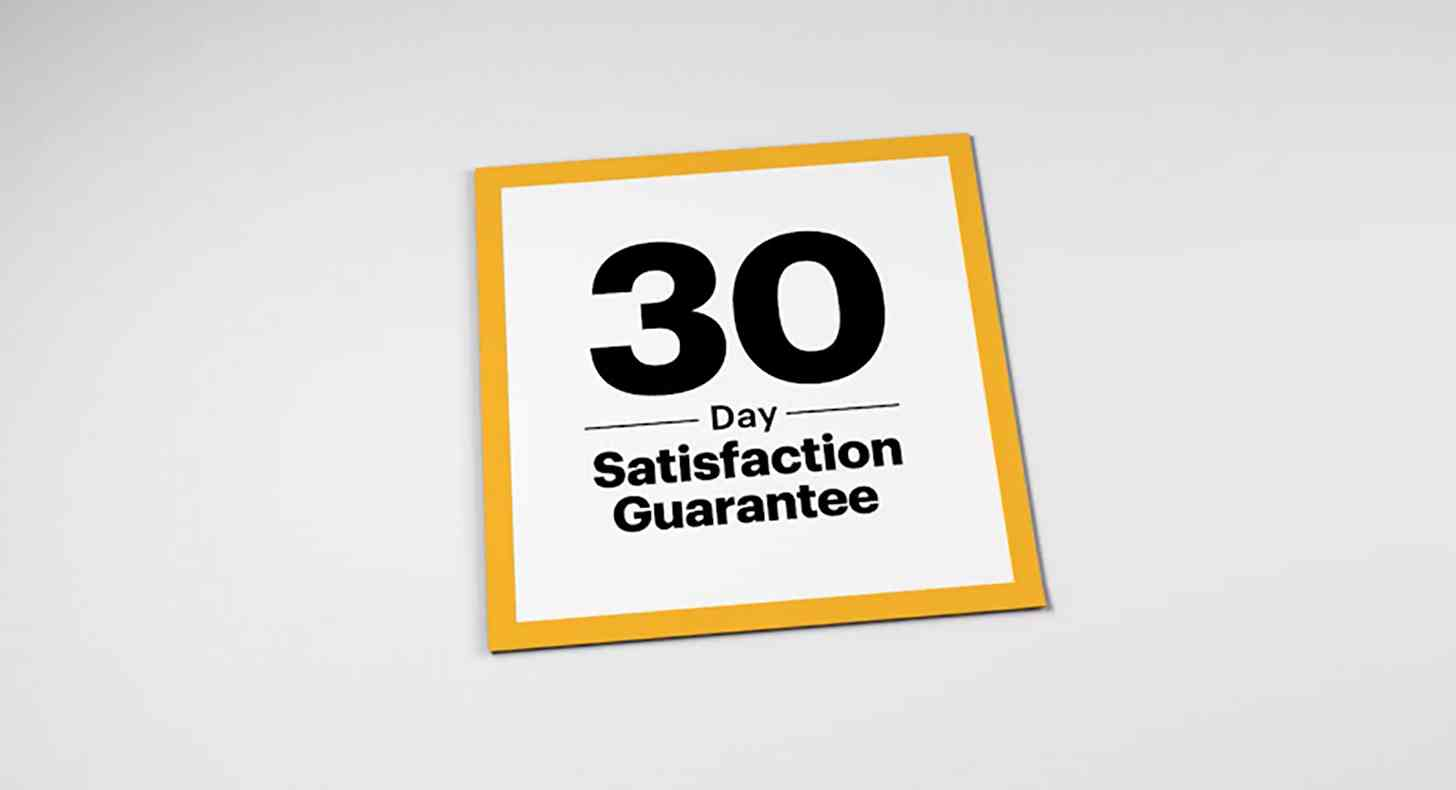Sprint 30-day satisfaction guarantee offer