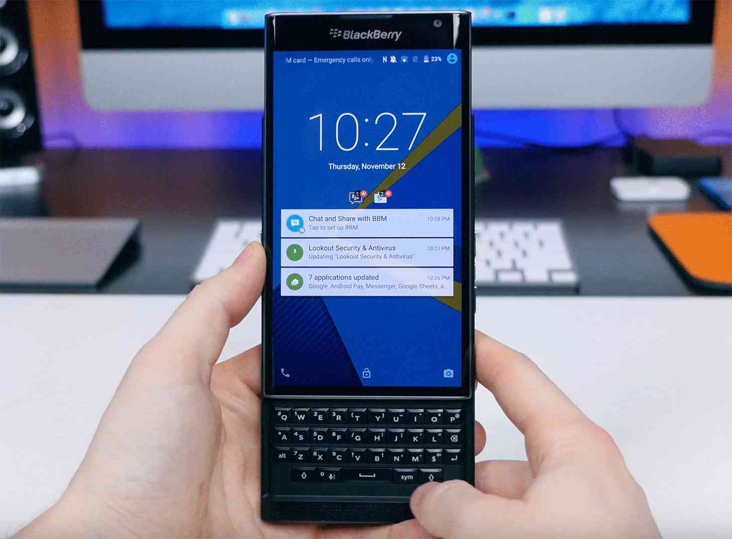 BlackBerry Priv hands-on