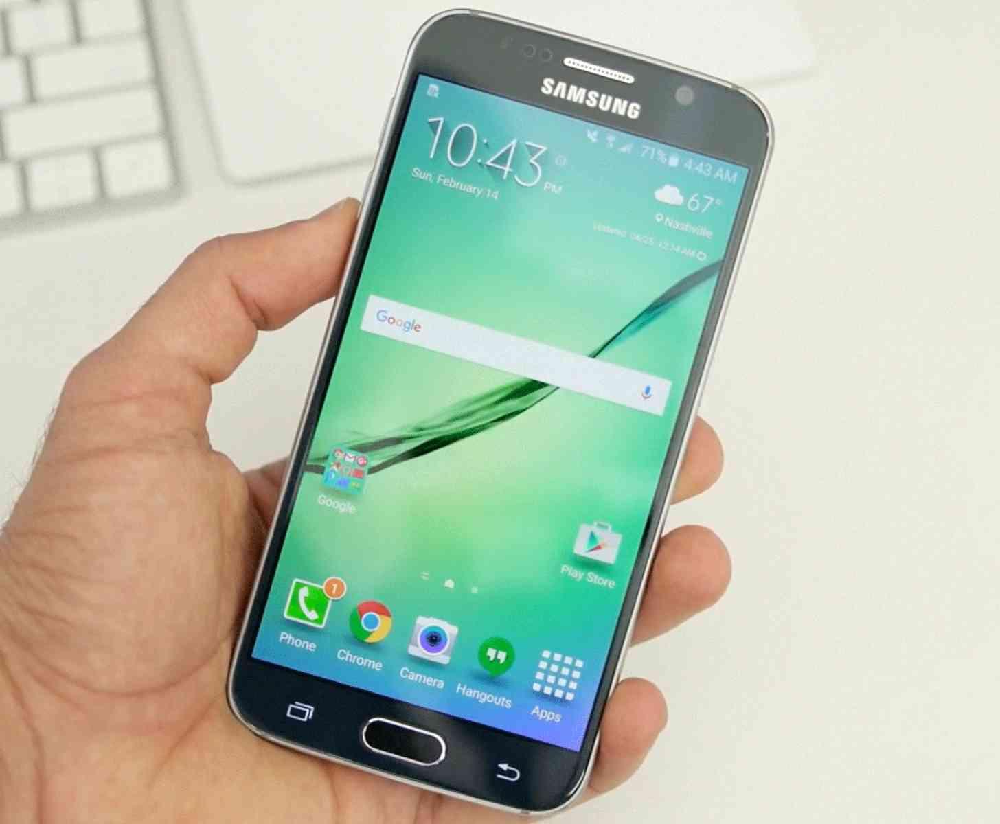 Samsung Galaxy S6 hands-on