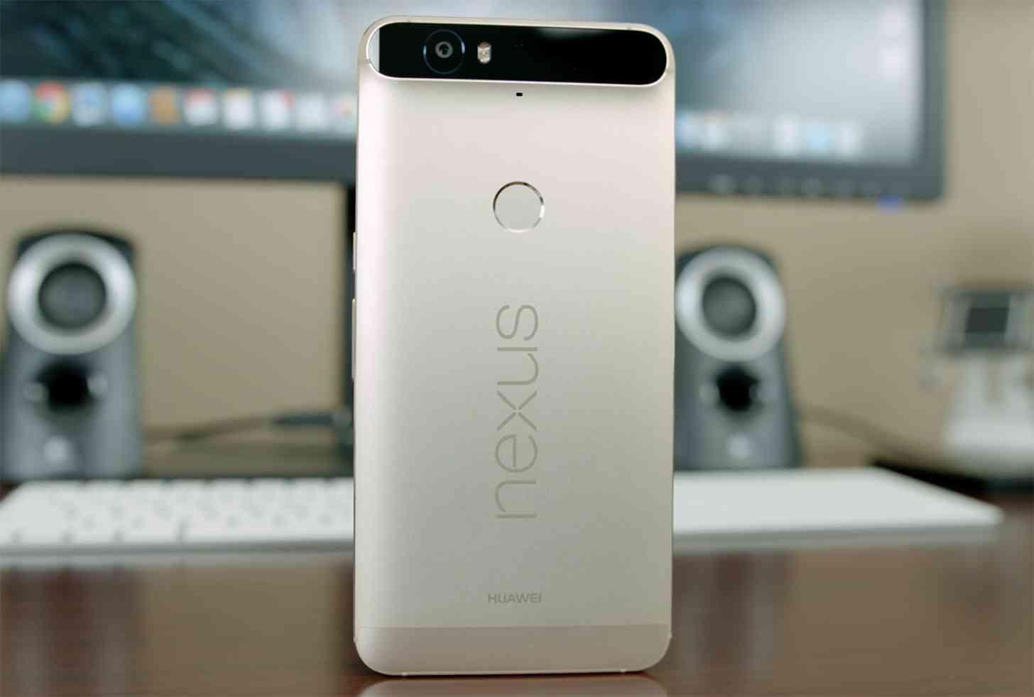 Nexus 6P Matte Gold hands-on