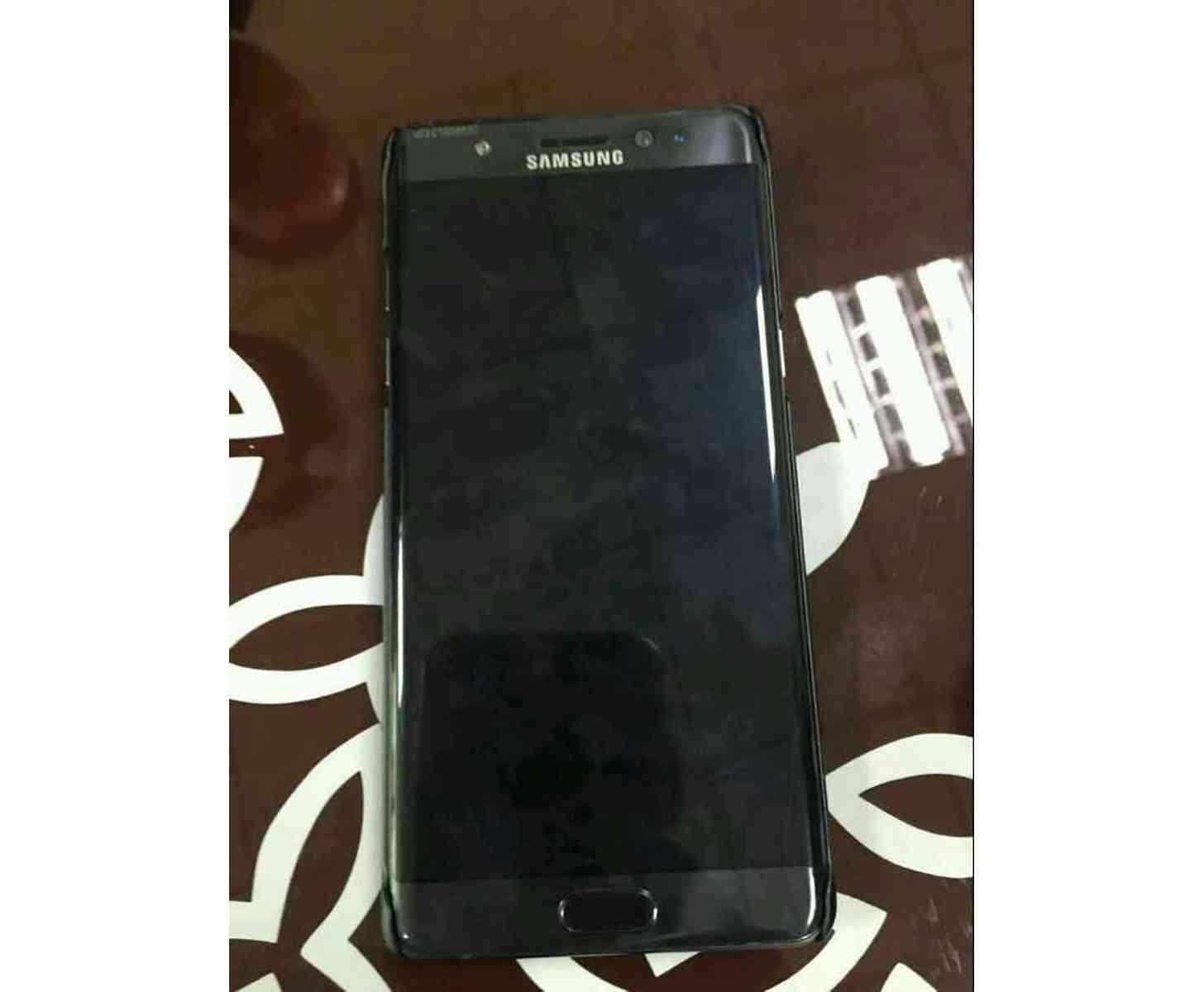 Samsung Galaxy Note 7 leak front