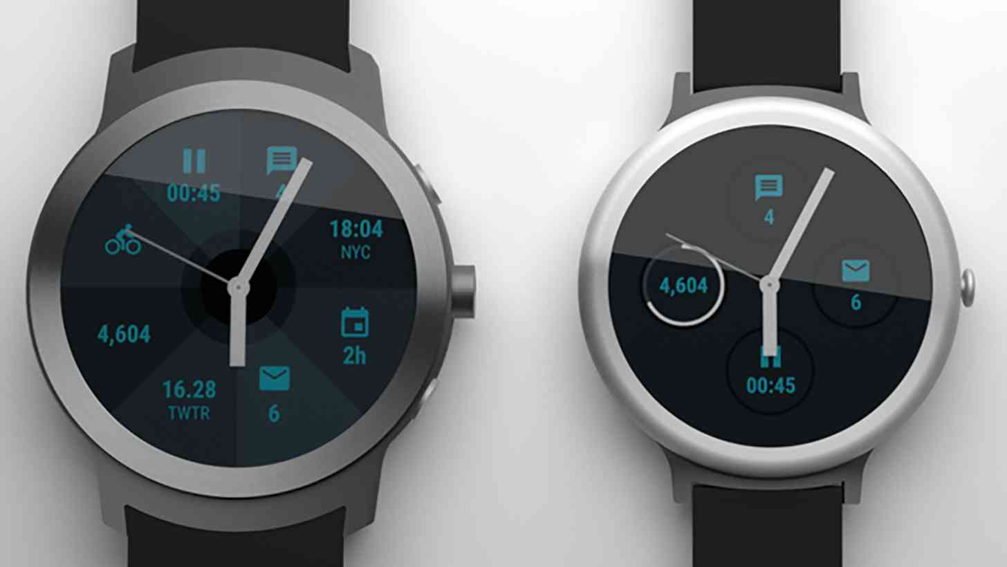 Google Android Wear smartwatches Angelfish Swordfish leak