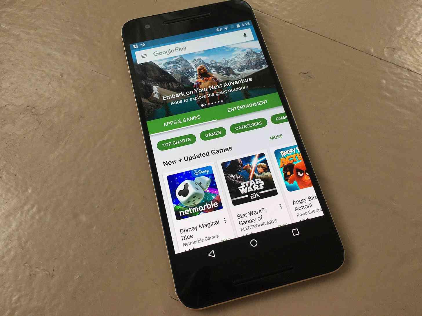 Google Play Store Nexus 6P