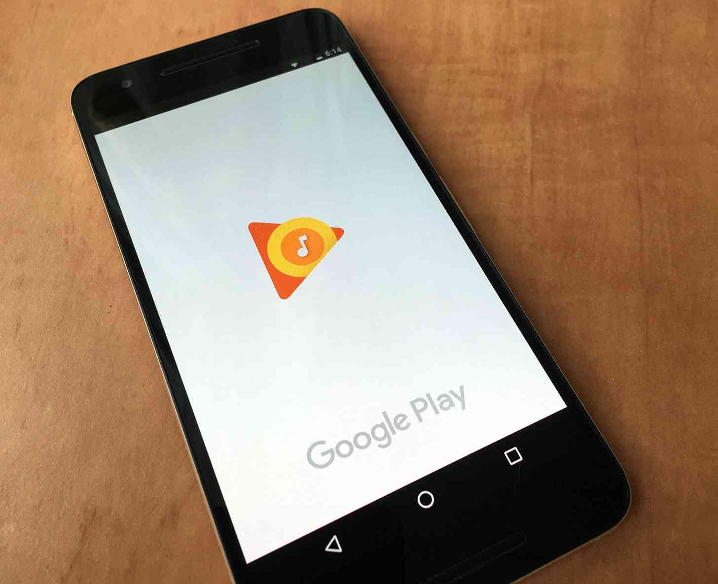 Google Play Music Nexus 6P
