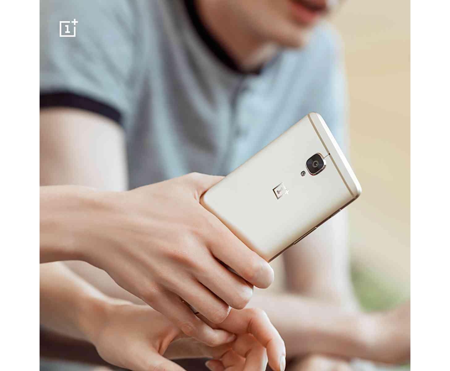OnePlus 3 Soft Gold teaser image