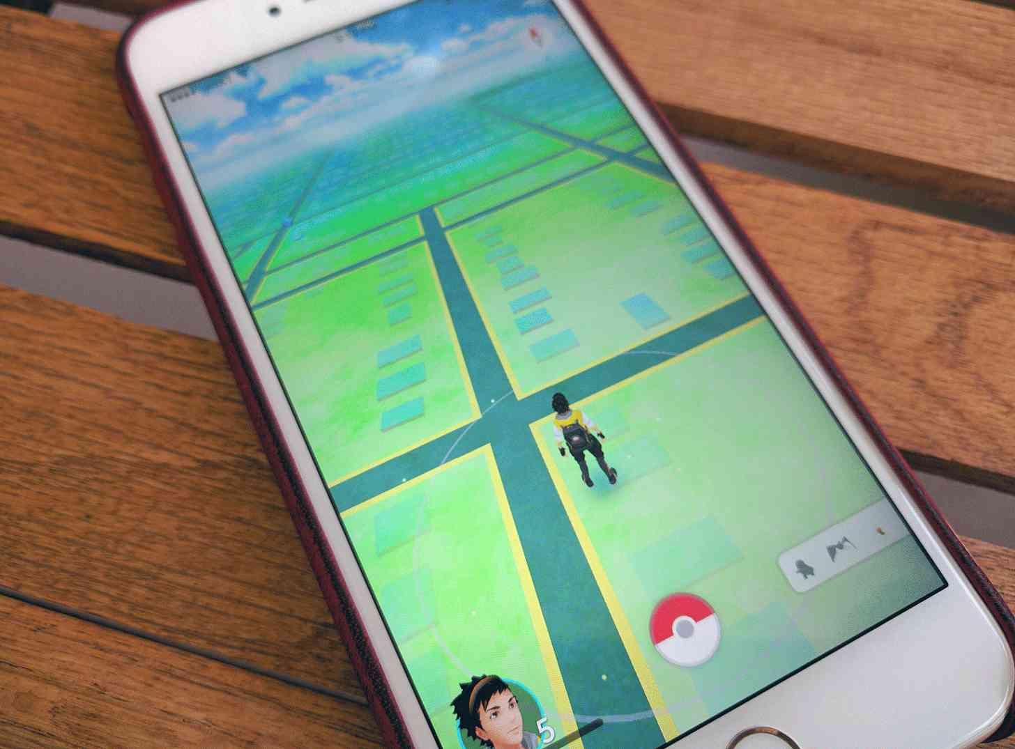 Pokémon Go iPhone app