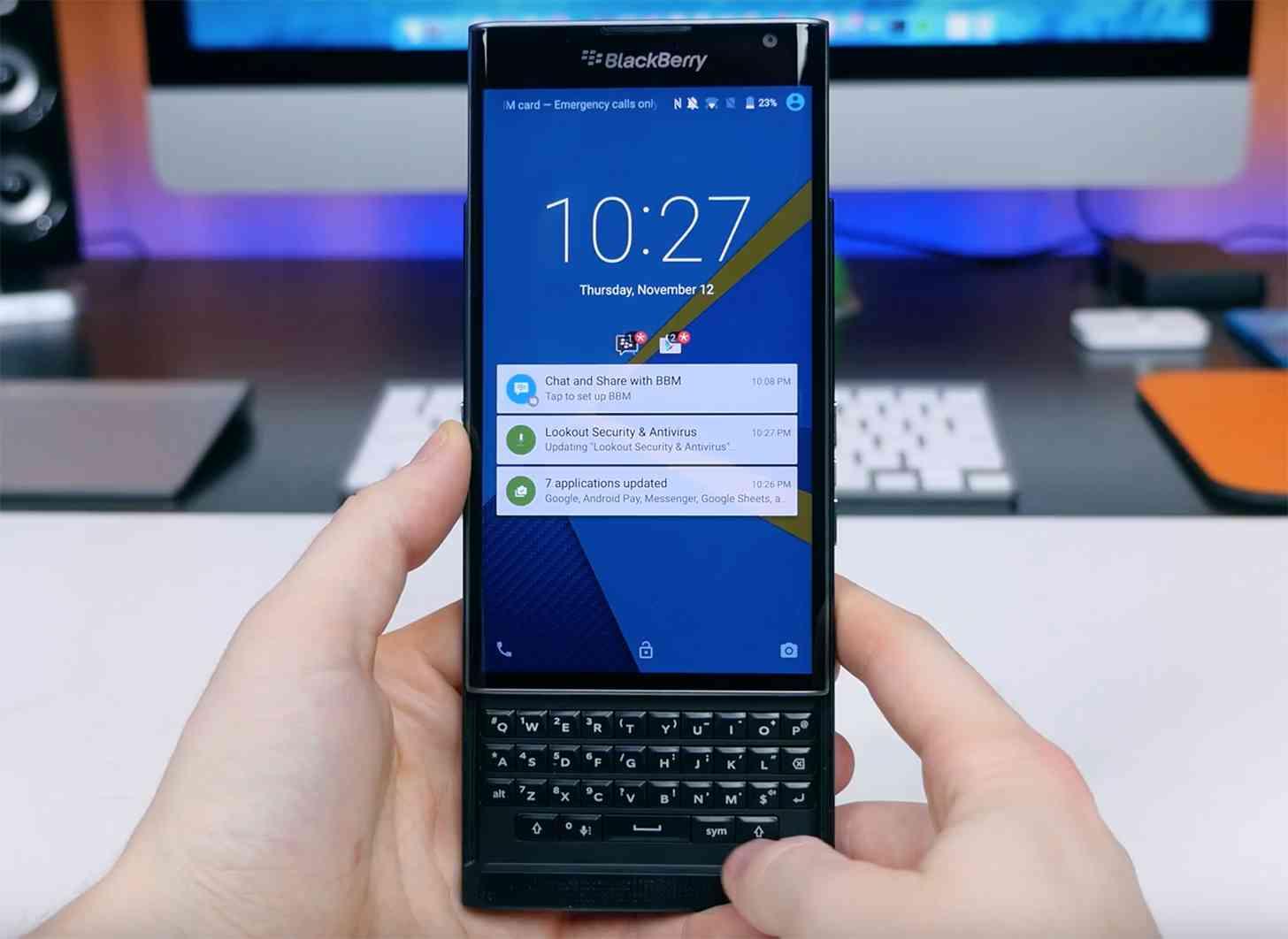BlackBerry Priv review