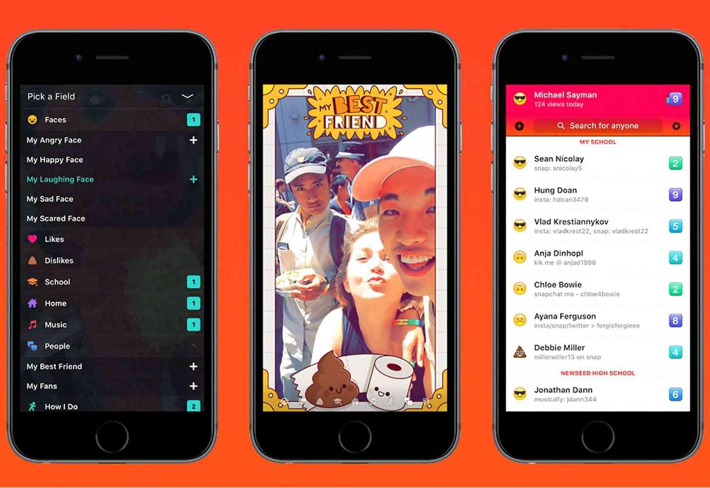 Facebook Lifestage iPhone app
