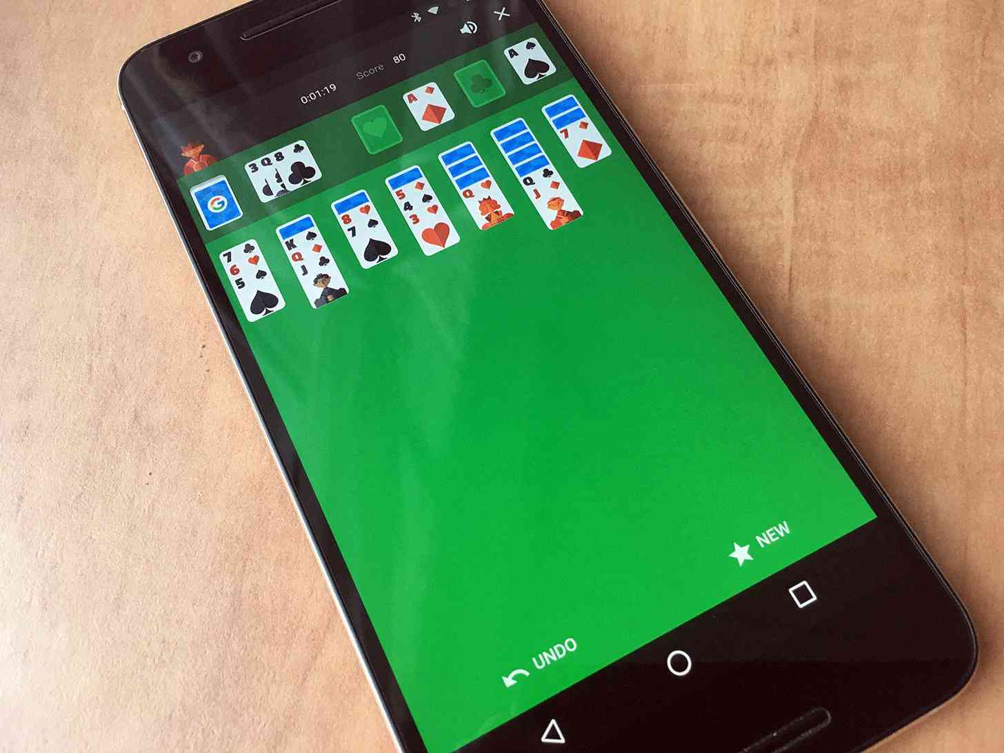 Google search solitaire Nexus 6P