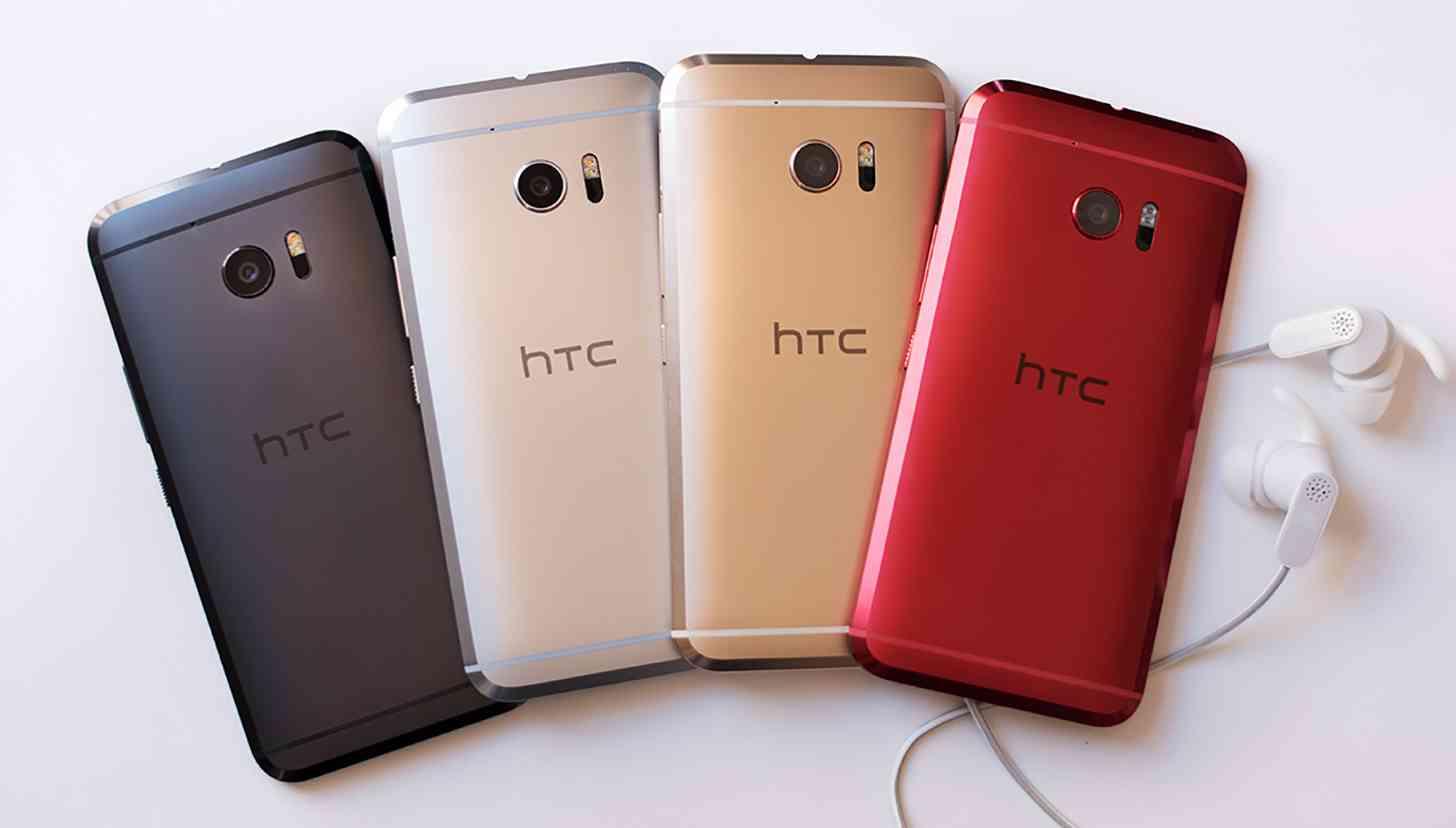 HTC 10 four colors