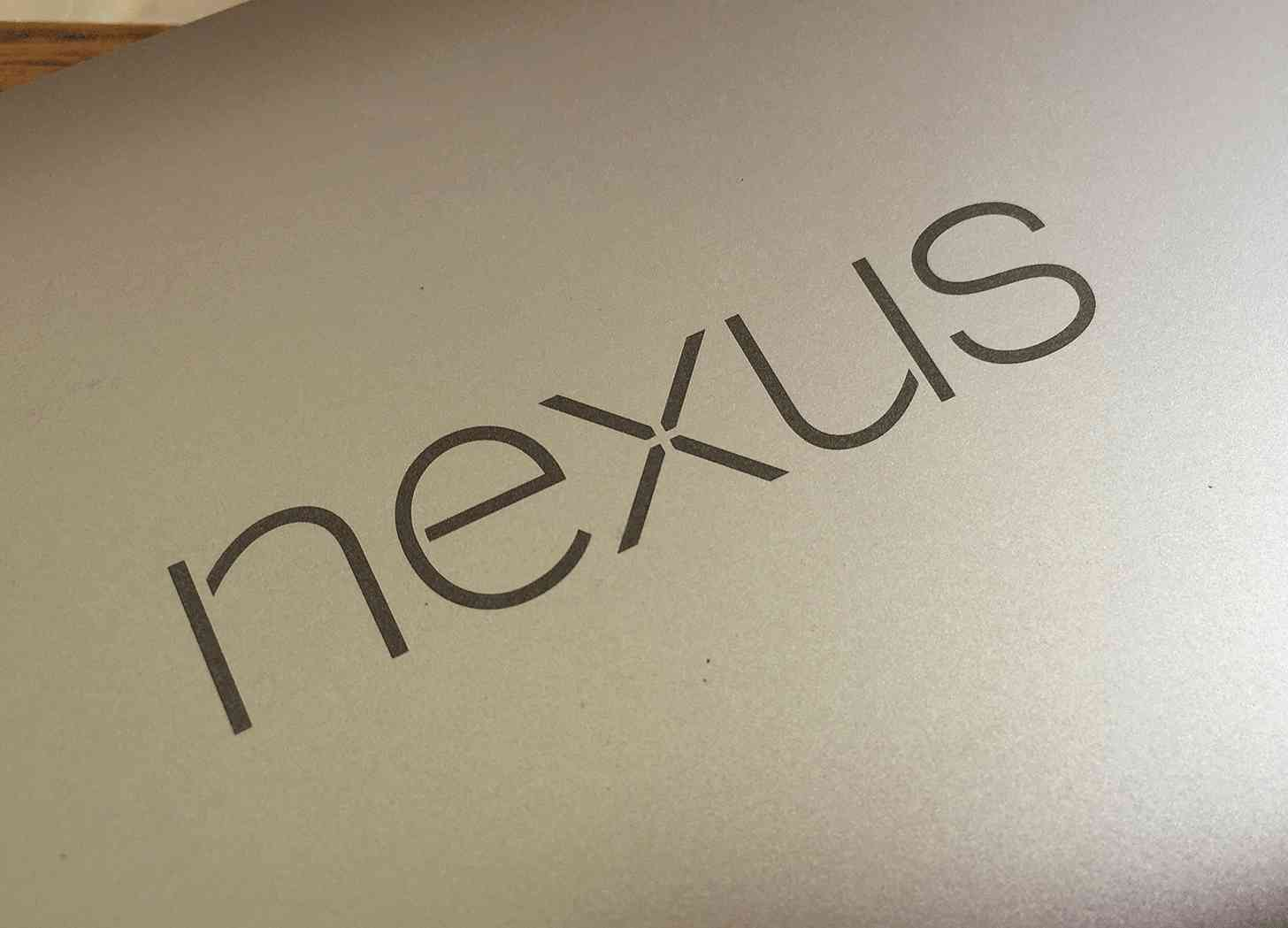 Nexus 6P logo Matte Gold rear