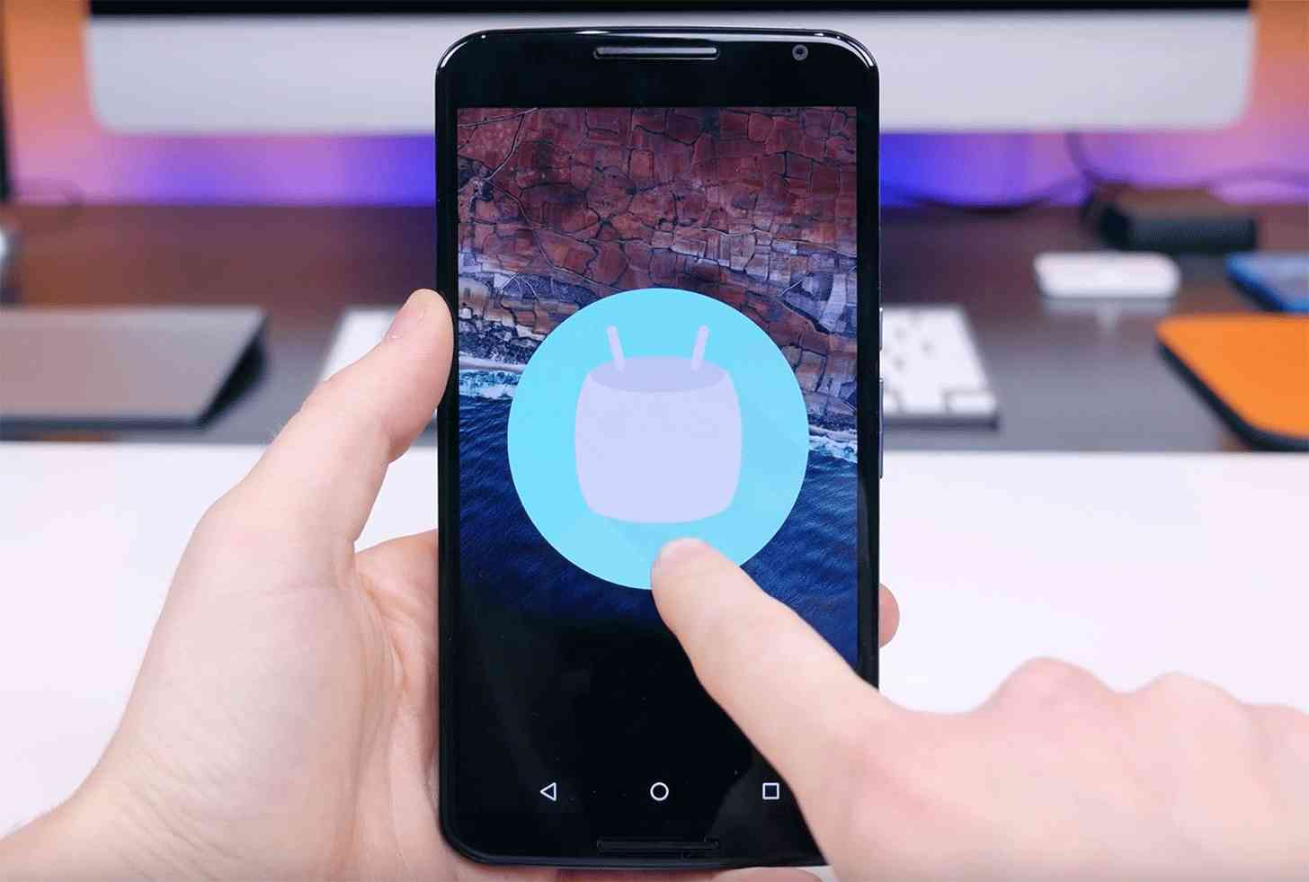 Android 6.0 Marshmallow Nexus 6