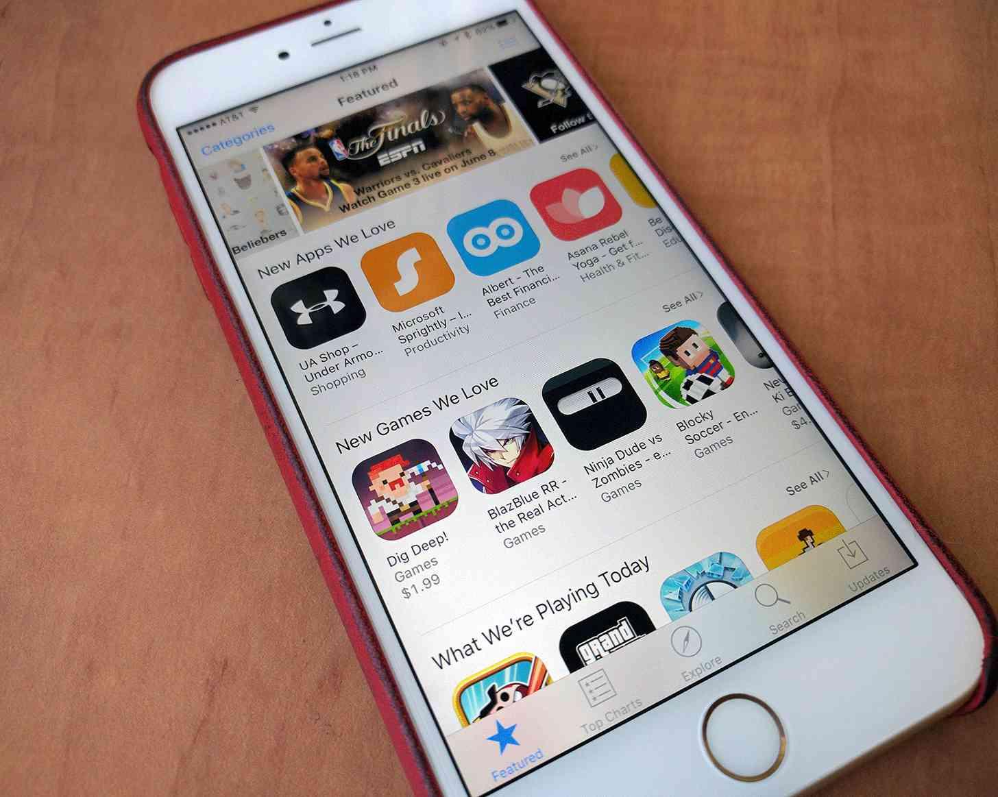 Apple App Store iPhone