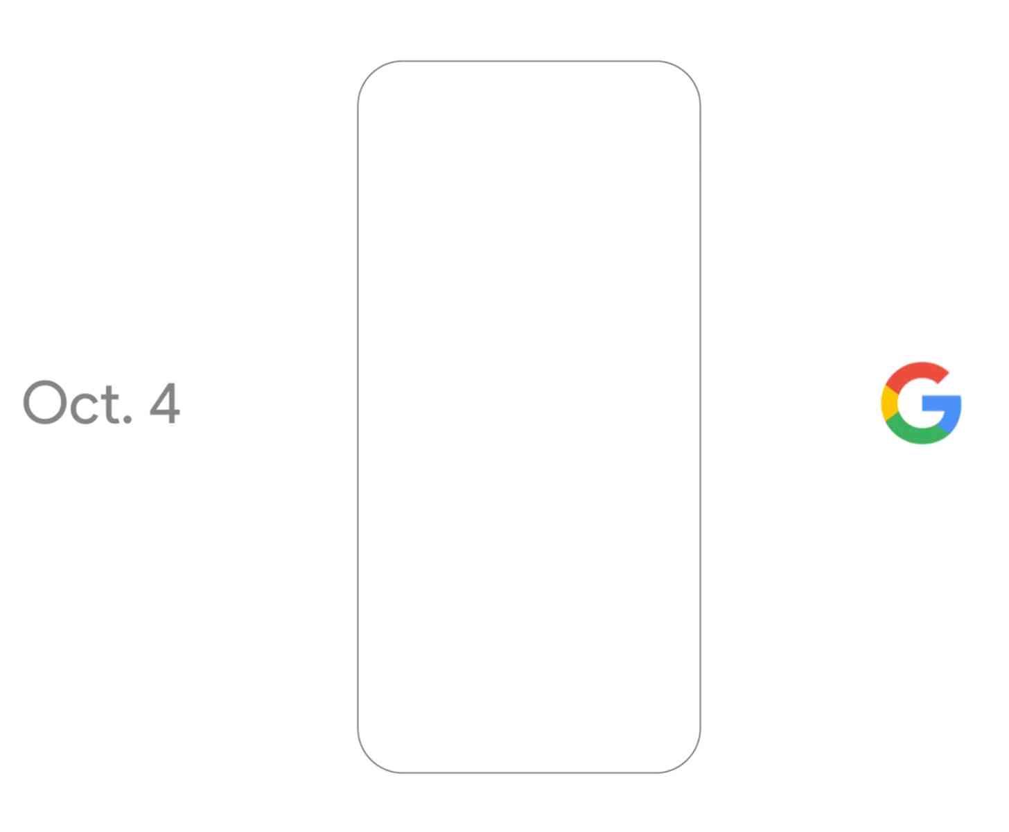 Google event October 4