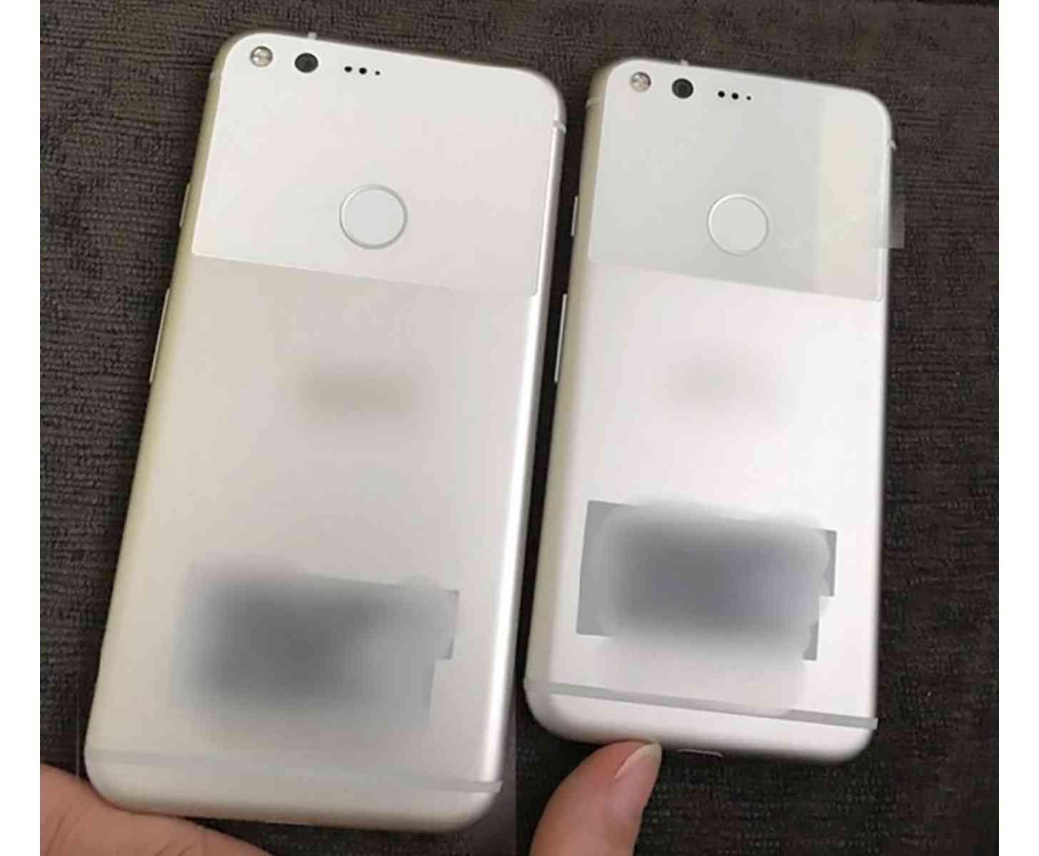 Google Pixel phones rear image leak