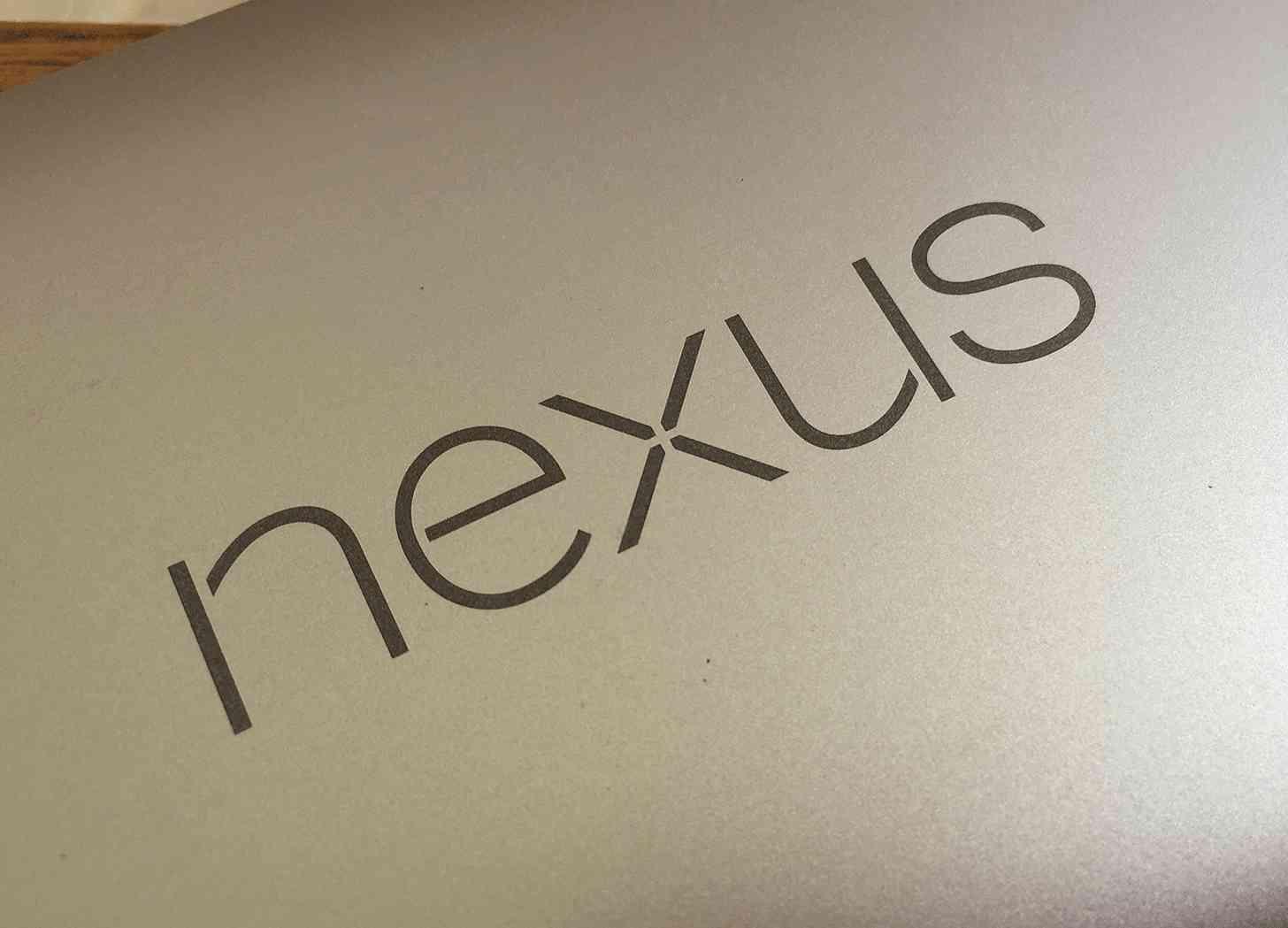 Nexus logo 6P rear