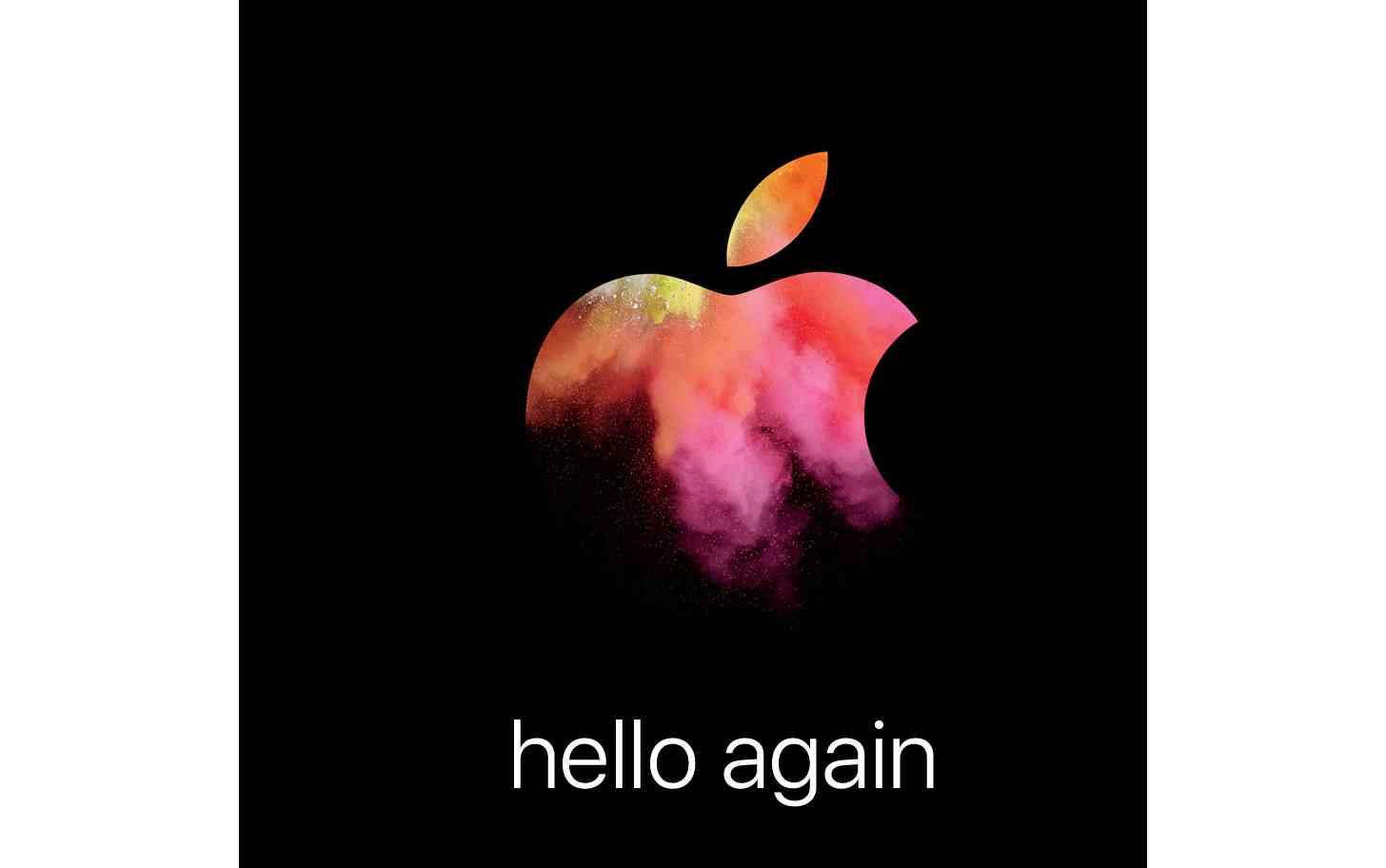 Apple October 27 event invite