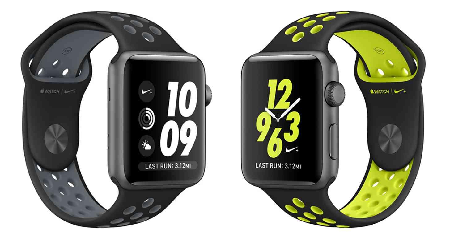 Apple Watch Nike+ black watch bands