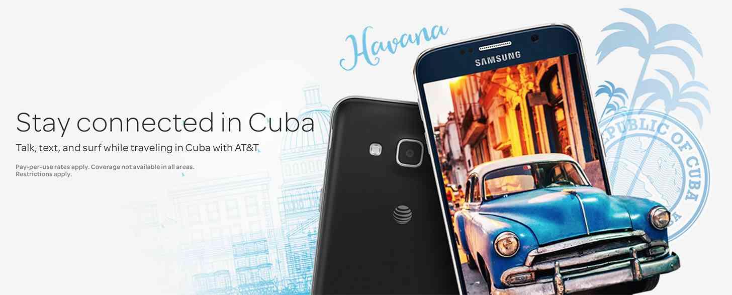 AT&T Cuba roaming