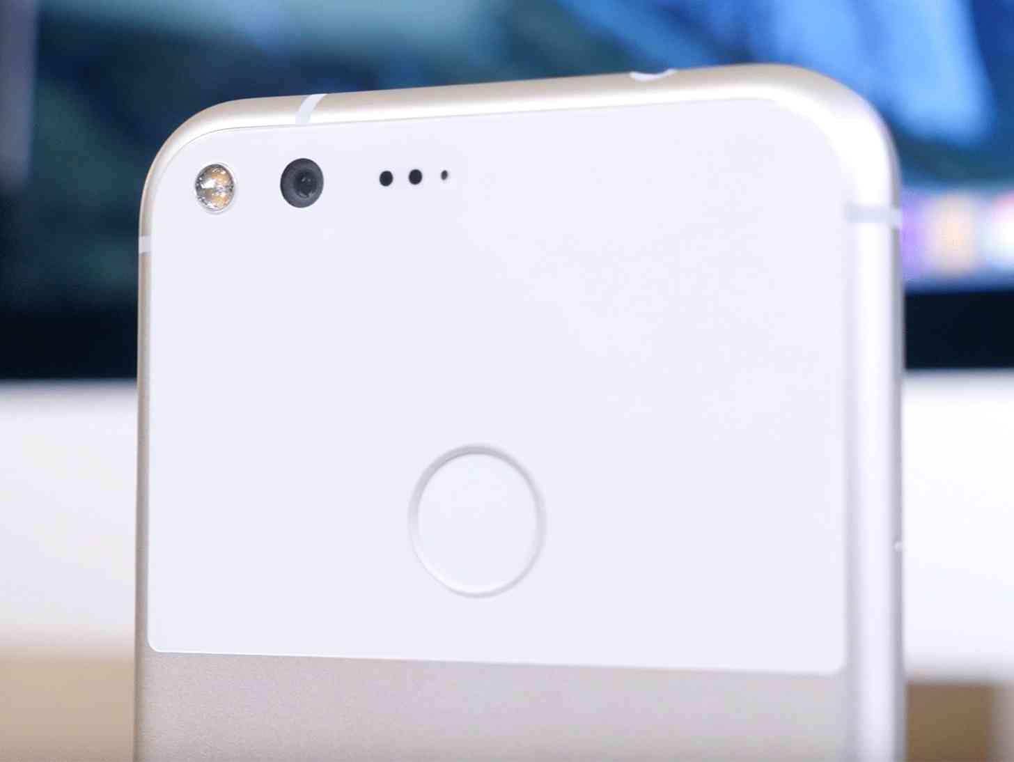 Google Pixel XL camera close-up