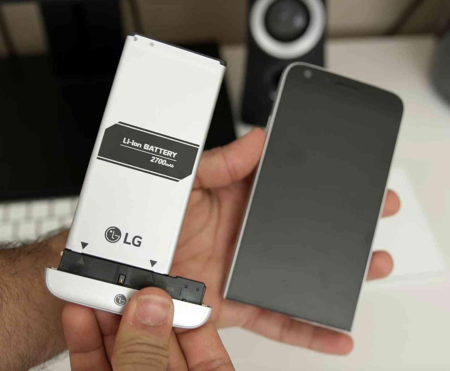 LG G5 modules hands-on