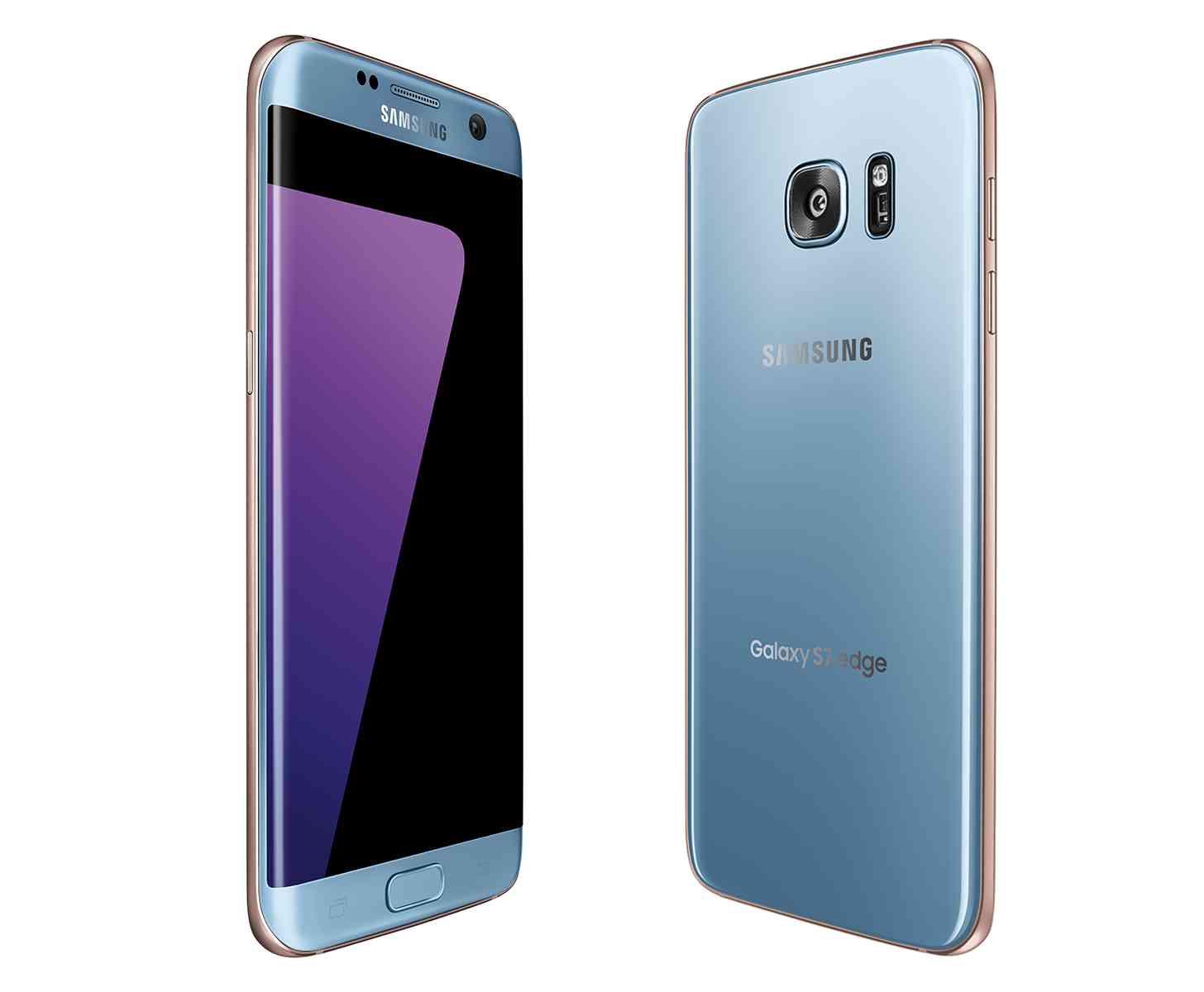 Blue Coral Samsung Galaxy S7 edge official
