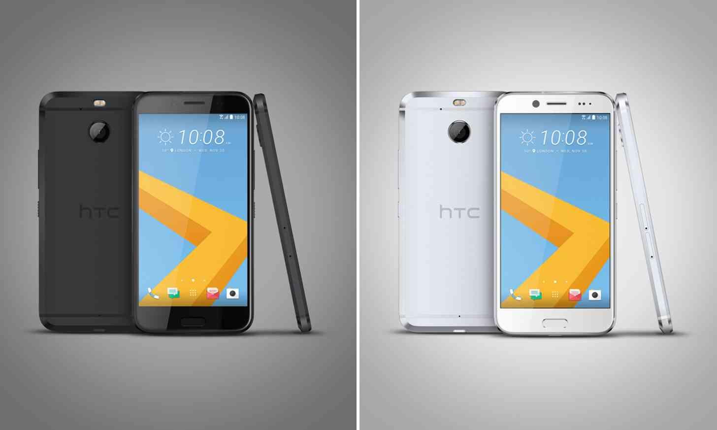 HTC 10 evo black, silver