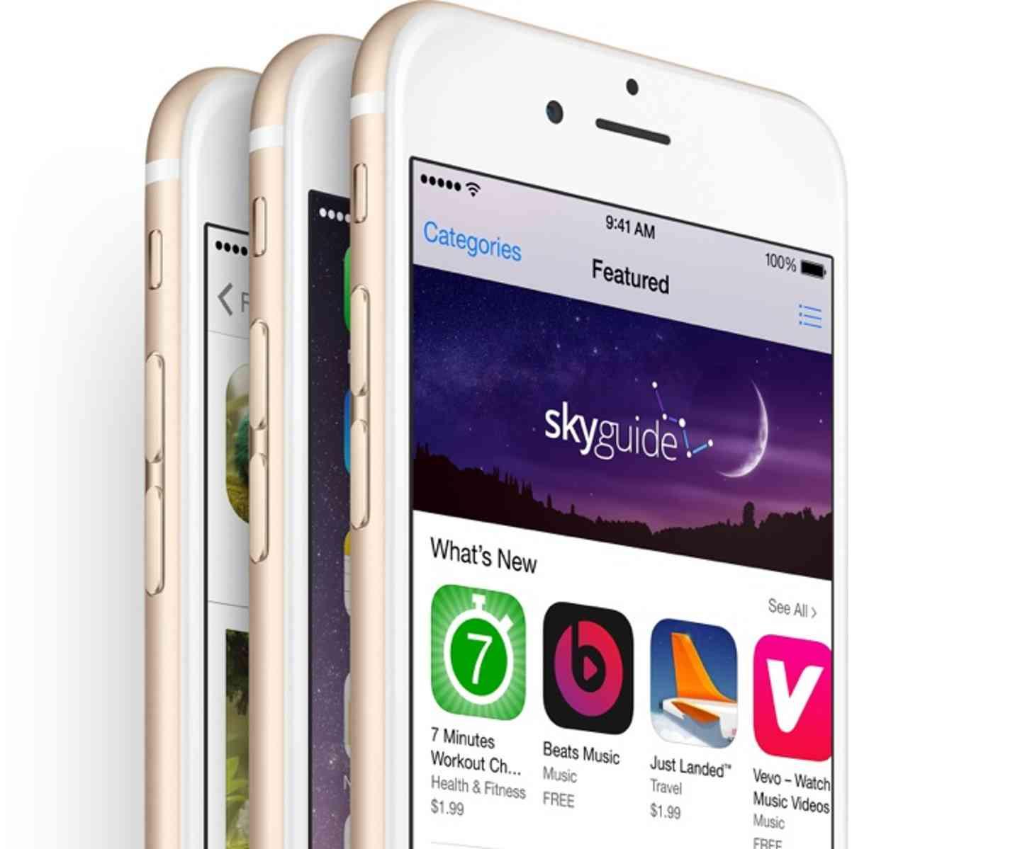 Apple iPhone 6 app store