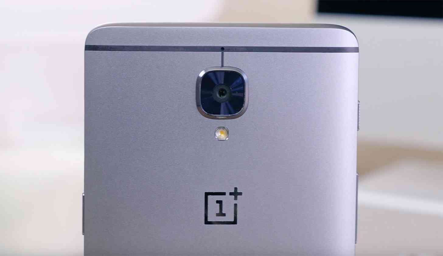 OnePlus 3 logo rear