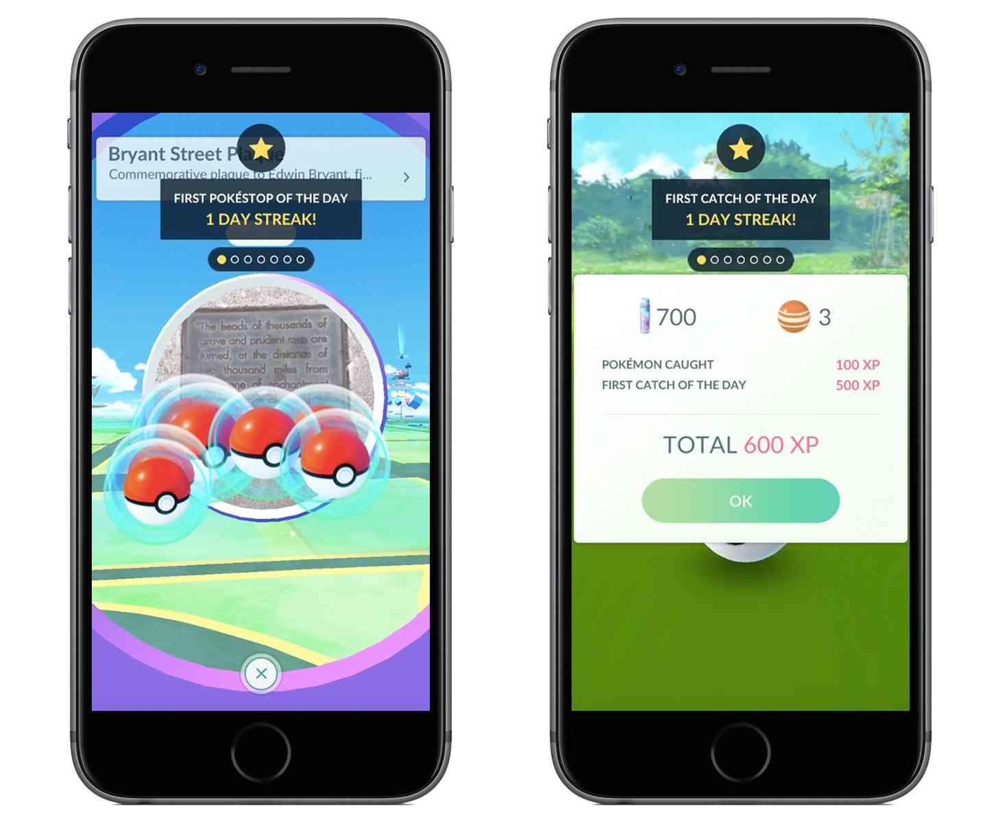Pokémon Go daily bonuses