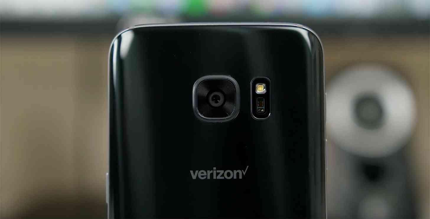 New Verizon logo Samsung Galaxy S7
