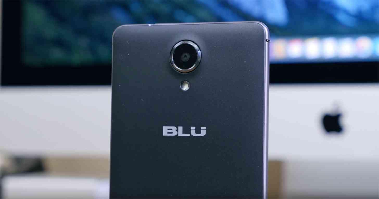 BLU R1 HD rear
