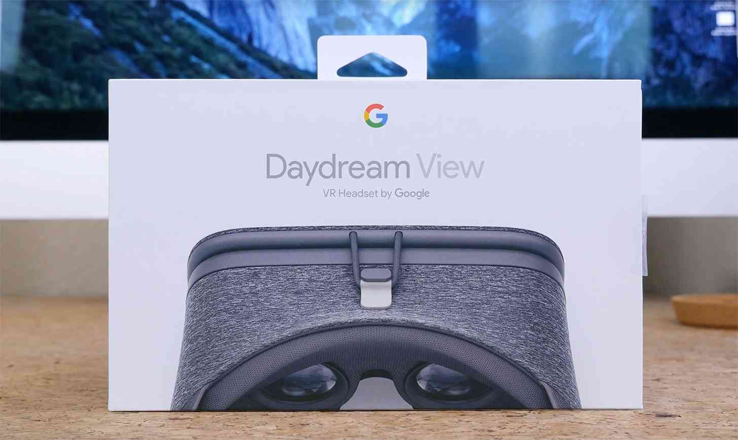 Google Daydream View unboxing