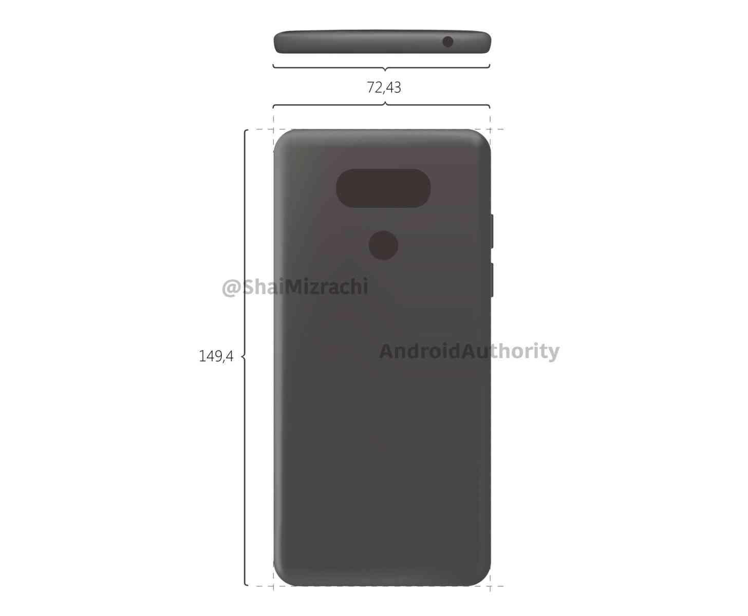 LG G6 design leak