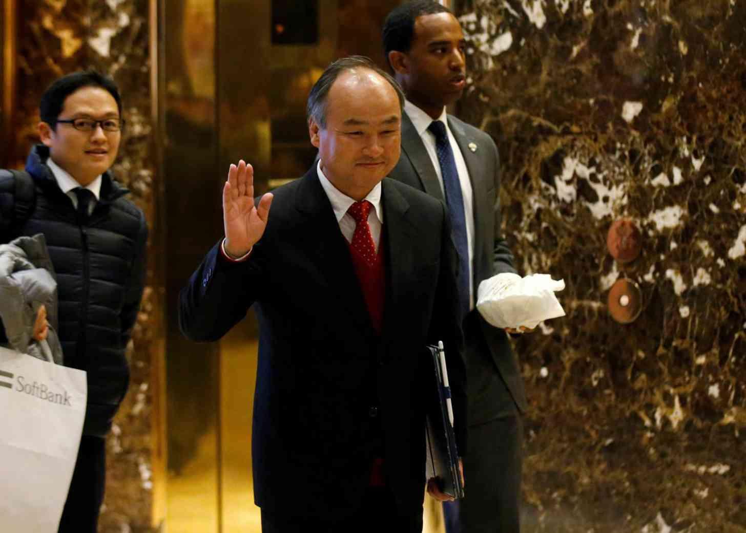 SoftBank CEO Masayoshi Son