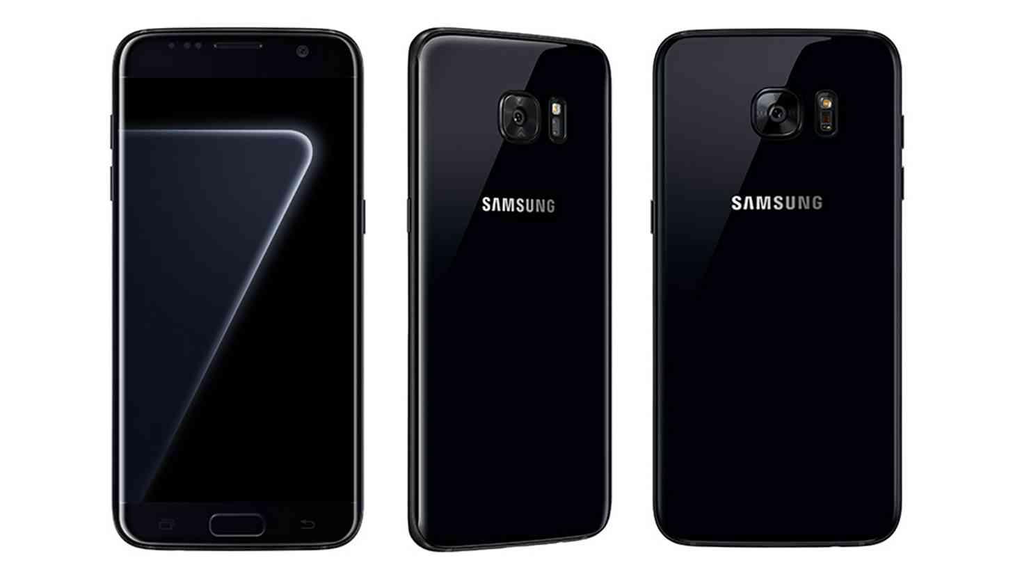 Pearl Black Galaxy S7 images leak