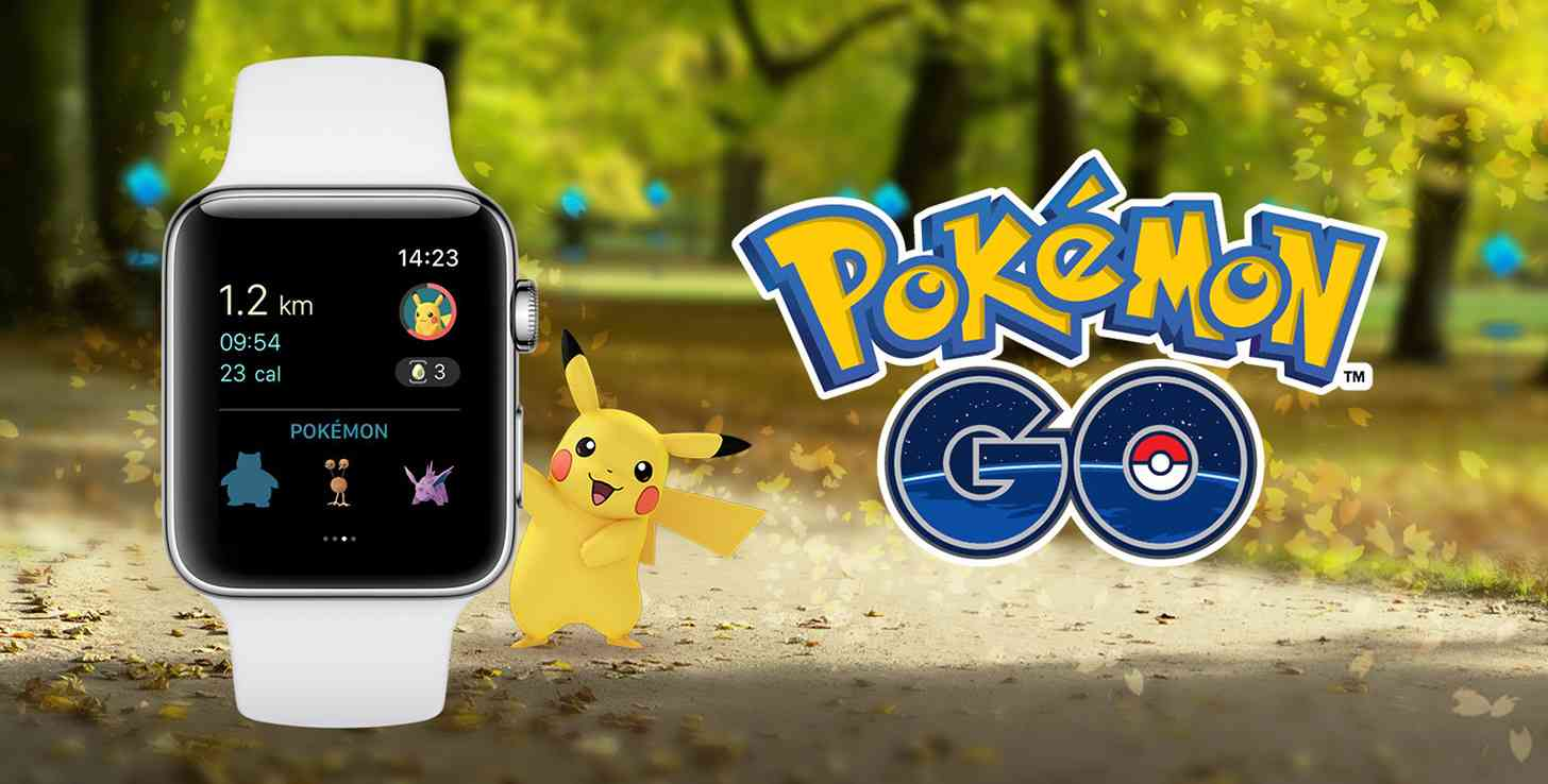 Pokémon Go Apple Watch app official